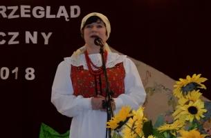 Pomysłodawczyni i organizatorka Przeglądu Renata Pawlak – dyrektor GOK w Goszczanowie