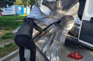 rzeźba Ostrokwiat