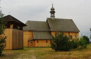 Kościół i dzwonnica z Wysokienic, 1758 i 1774 r., fot. A. Kośmider