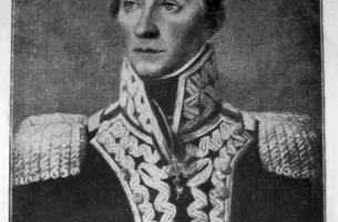 Grafika nadesłana przez Adam W. Goryckiego: gen. dyw. weteranów WP Ks. Warszawskiego Amilkar Kosiński (olej, po 1812 r.)