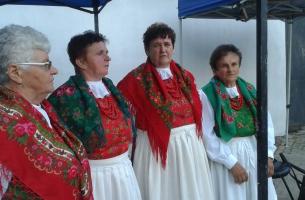 Zespół Dukat przed występem - Kazimierz 2017 r., fot. Małgorzata Dziurowicz-Kaszuba