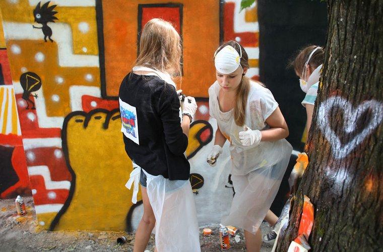 Graffiti Sztuka Miasta W Bełchatowie Region Kultury